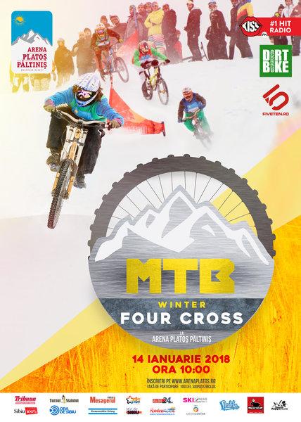 MTB WINTER 4 x CROSS, Judetul Sibiu, Romania